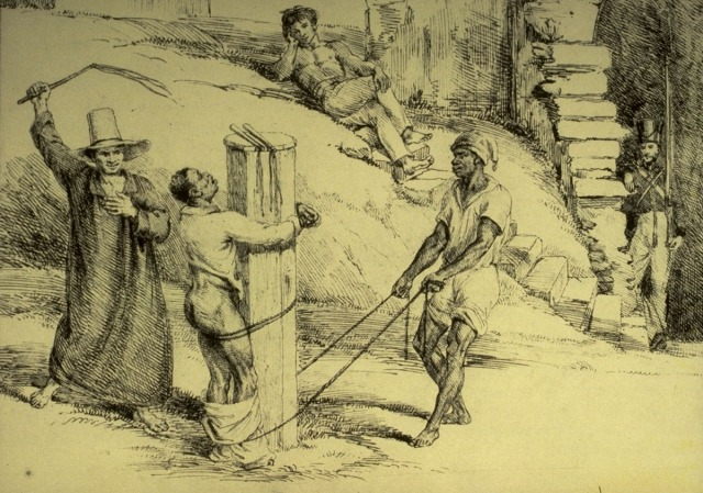 Whipping a Slave, Brazil, 1825-26